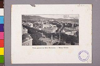 Vista Parcial de Belo Horizonte - Minas Gerais