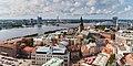 Vistas desde la iglesia de San Pedro, Riga, Letonia, 2012-08-07, DD 04.JPG