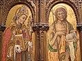 Vittore crivelli, madonna col bambino e santi francescani, 1481, 02.JPG