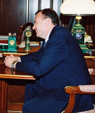 Viktor Chernomyrdin's Second Cabinet - Image: Vladimir Potanin in 2000