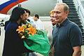 Vladimir Putin in the United States 13-16 November 2001-28.jpg