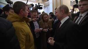 Файл:Vladimir Putin voted in the presidential election in Russia in 2018.ogv