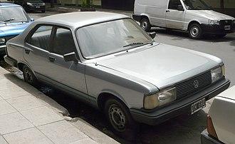Volkswagen Type 3 - Argentinian Volkswagen 1500