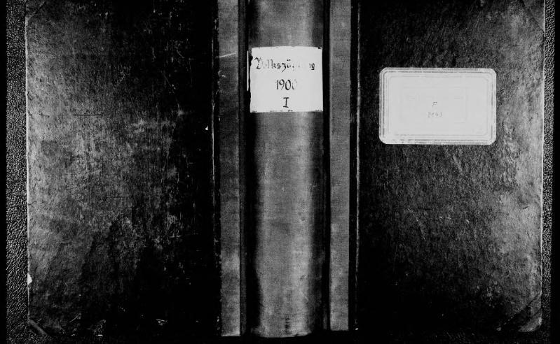 File:Volkszählung in der Stadt Minden, 1900, Band 1.djvu