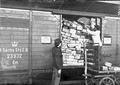 Vollgeladener deutscher Eisenbahnwagen - CH-BAR - 3240155.tif
