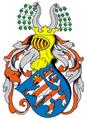 Vollwappen Wettiner Landgraf Albrecht 1265.png
