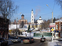View of Volokolamsk Kremlin