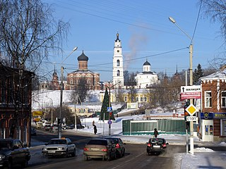 Town in Moscow Oblast, Russia