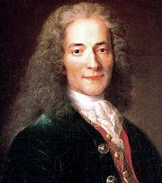 D abord sceptique, Voltaire devint un admirateur de Rameau qu il baptisa l « Euclide-Orphée ». Leur projet commun, l opéra   Samson  , ne fut jamais achevéPortrait de Voltaire en 1718<br/>Atelier de Nicolas de Largillière (1656-1746)<br/>Paris, Musée Carnavalet