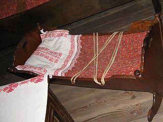 Prešeren House - Image: Vrba zibelka