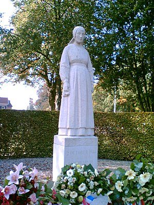 Putten raid - Lady of Putten memorial