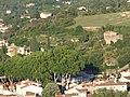 Vue Ouest sur 4 anciennes résidences de peintres au Sud du centre historique de Céret.jpg
