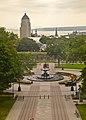 Vue depuis une fenêtre du Parlement de Québec.jpg