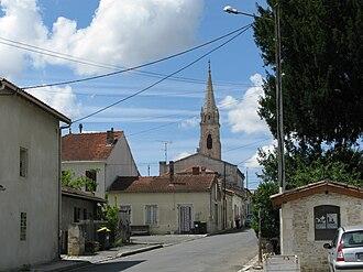 Ordonnac - Image: Vue sur Ordonnac