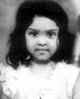 Vyjayanthimala - Vyjayanthimala at the age of two