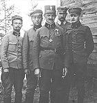 Włodzimierz Zagórski ze sztabem 2 pułku piechoty Legionów.jpg