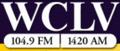 WCLV-FM, WCLV (AM) logo.png
