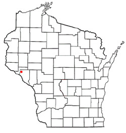Location of Maxville, Wisconsin