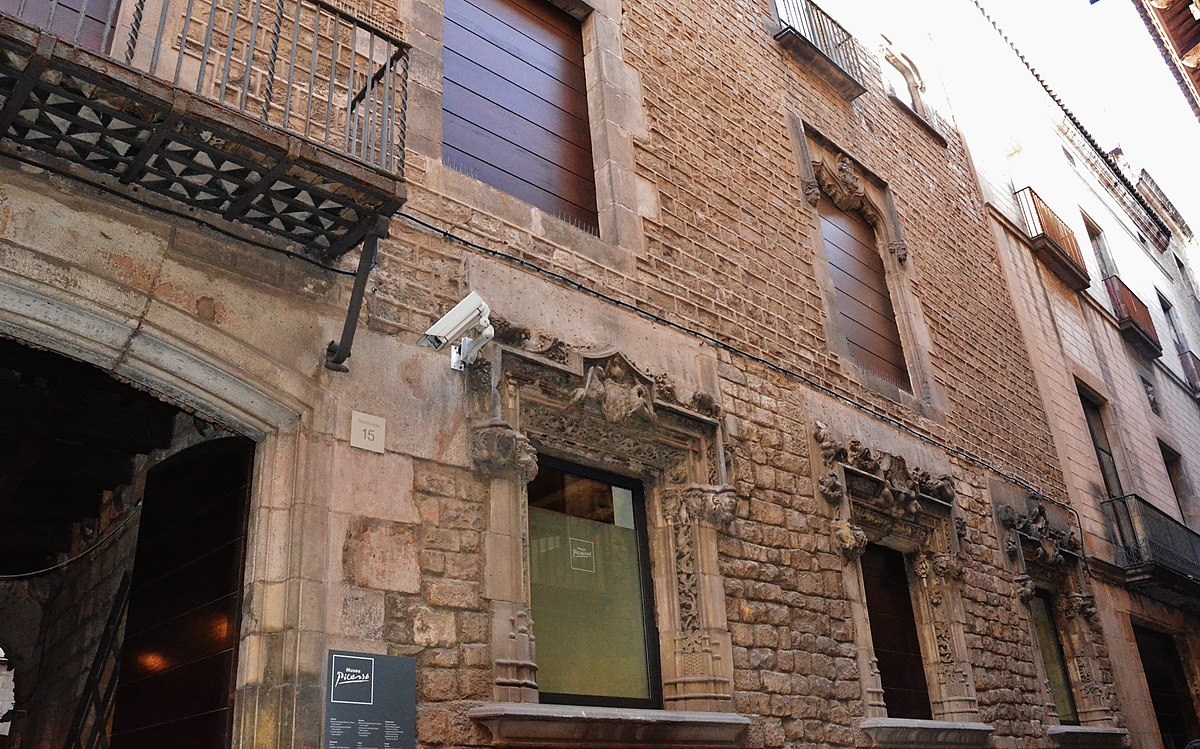 WLM14ES - Palau Meca, Museu Picasso, Ciutat Vella, Barcelona - MARIA ROSA FERRE.jpg