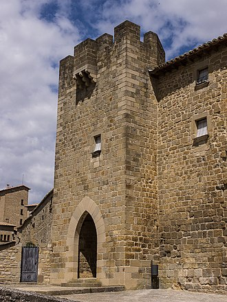 Sancho Ramírez, Count of Ribagorza - Castle in Sos, governed by Sancho Ramírez