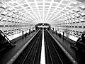 WMATA Smithsonian station BW.jpg
