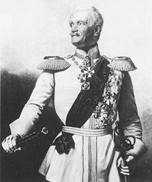 Berliner Oberkommandant: Friedrich von Wrangel (Quelle: Wikimedia)