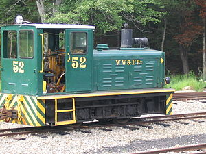 Wiscasset, Waterville and Farmington Railway - Image: WW&F 52