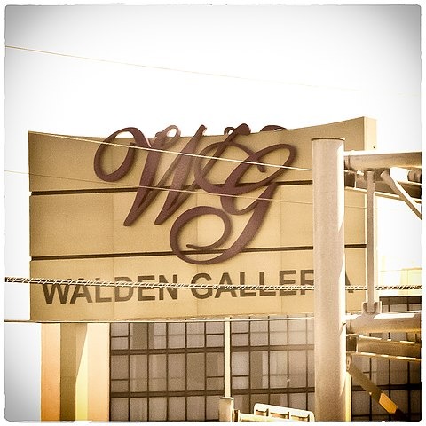 Walden Galleria By Flickr user Cathy Smith (https://www.flickr.com/photos/catasmith/9179393222) [CC-BY-2.0 (https://creativecommons.org/licenses/by/2.0)], via Wikimedia Commons