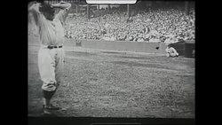 1925年,华特·强森的投球英姿