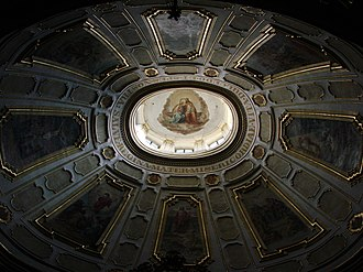 Oculus - Image: Wambierzyce Basilica of the Visitation of Our Lady ceiling 2