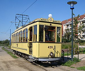 Heritage streetcar - French Deûle Valley tourist tram
