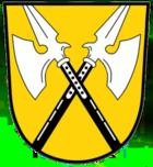 Das Wappen von Hallstadt