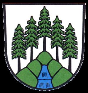 Schönwald im Schwarzwald - Image: Wappen Schoenwald im Schwarzwald