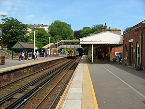 St Leonards Warrior Square railway station - Image: Warrior square station