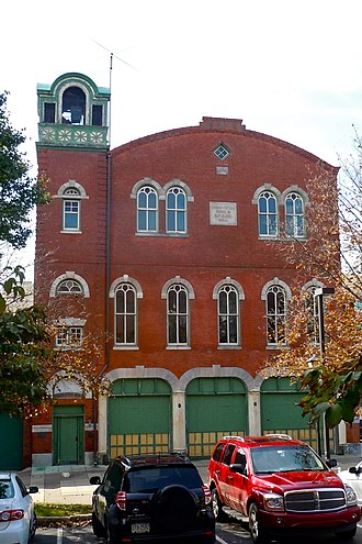 Conshohocken, Pennsylvania - Washington Hose Company, a historic fire station