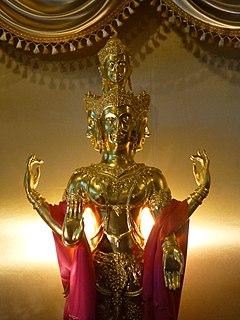 Phra Phrom Thai representation of the god Brahma