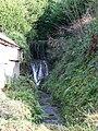 Waterfall, East Pennard - geograph.org.uk - 1702608.jpg