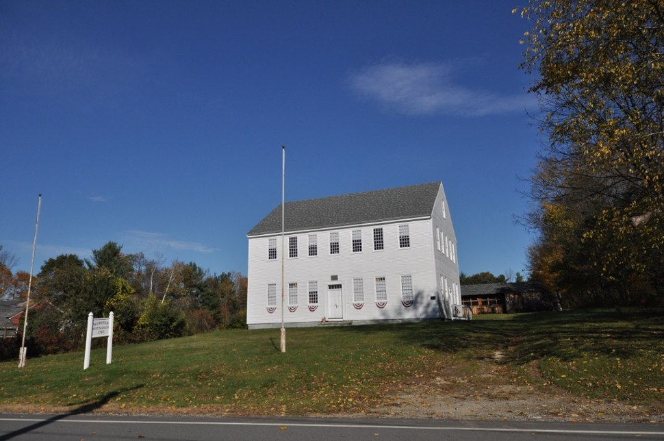 The Old Webster Meeting House