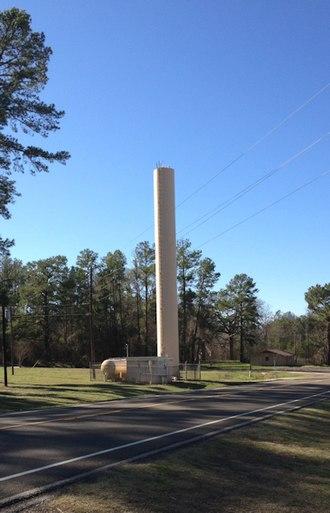 Weches, Texas - Weches water tower