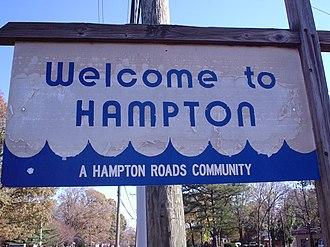 Hampton Roads - Hampton is a Hampton Roads community.