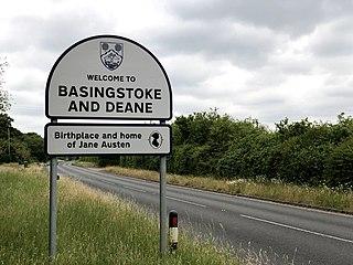 Basingstoke and Deane Borough and Non-metropolitan district in England