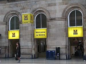 Margaret Calvert - Image: Welcome to Metro geograph.org.uk 1203645