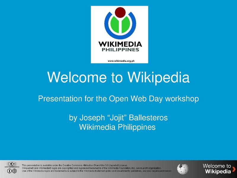 File:Welcome to Wikipedia - Presentation for the Open Web