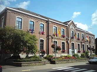 Welkenraedt - Image: Welkenraedt Gemeindehaus