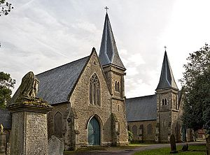 Edmund Francis Law - Wellingborough Church of England mortuary chapel c.1857–58, London Road cemetery. Listed Grade: II