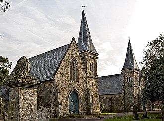 Edmund Francis Law - Wellingborough Church of England mortuary chapel c.1857–58, London Road cemetery. Listed Grade: II