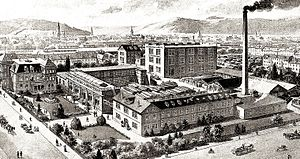 Welte piano factory, 1912