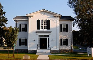 Wenham, Massachusetts - The Wenham Town Hall on Route 1A