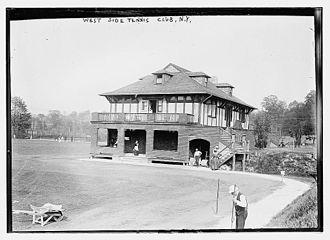 West Side Tennis Club - Club in 1912