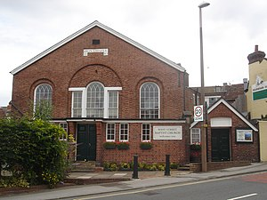 West Street Baptist Church, East Grinstead - The church from the southeast